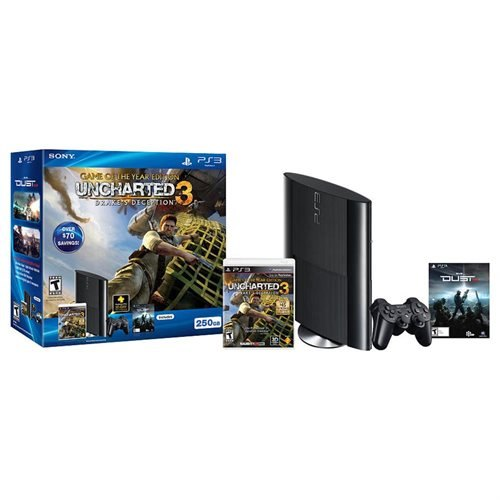 Sony PlayStation 3 250GB Uncharted 3: Game of the Year & Dust 514 Bundle