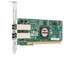 Emulex Lightpulse Lp11002-m4 4 Gbps Fibre Channel Pci-x 2.0 Host Bus Adapter With Dual-channel Embedded Multi-mode Optic Interface - 266 Mhz - 64-bit