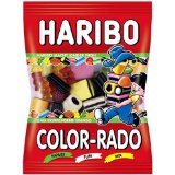 Haribo Color-Rado Gummi Candy -pack of 6 x 200g