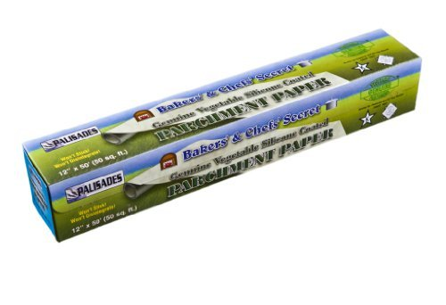 Genuine Vegetable Silicone Coated Parchment Paper 12