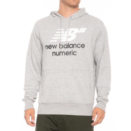 Nb Numeric Logo Stacked Hoodie (for Men)