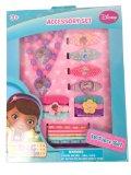 Disney 18 piece Boxed Hair Accessories Boxed Set (Minnie , Princess and Doc McStuffins) (DO008 Doc McStuffins)