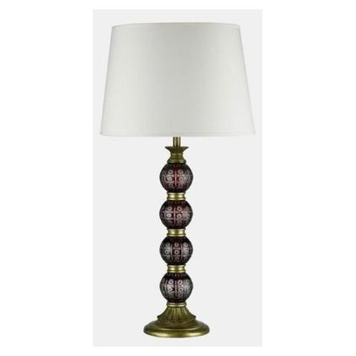 Monroe Table Lamp in Antique Bronze