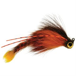 Umpqua Geezus Lizard Crayfish Fly Fishing Bass, Surface Size 1/0- 1 Pack