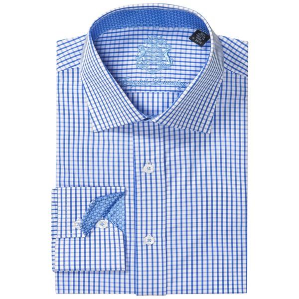 English Laundry Checkered Dress Shirt - Long Sleeve (for Men)