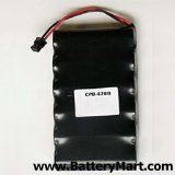 Replacement Battery For PANASONIC P-P507 PP507