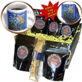 cgb_54922_1 Yelena Rubin Painting Figurative Dreamscapes - This is my tropical mermaid caring for her pet fish. Beautiful dream with very peaceful atmosphere - Coffee Gift Baskets - Coffee Gift Basket