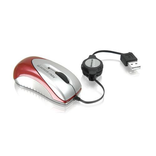 IOGEAR Optical Mini Mouse - Optical - USB