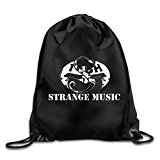 Tech N9ne Strange Music Drawstring Backpack Sport Bag