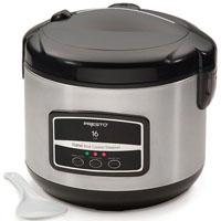 Presto 05813 05813 - Rice Cooker/steamer - 650 W - Stainless Steel