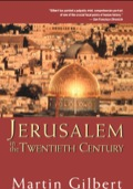 Jerusalem In The Twentieth Century