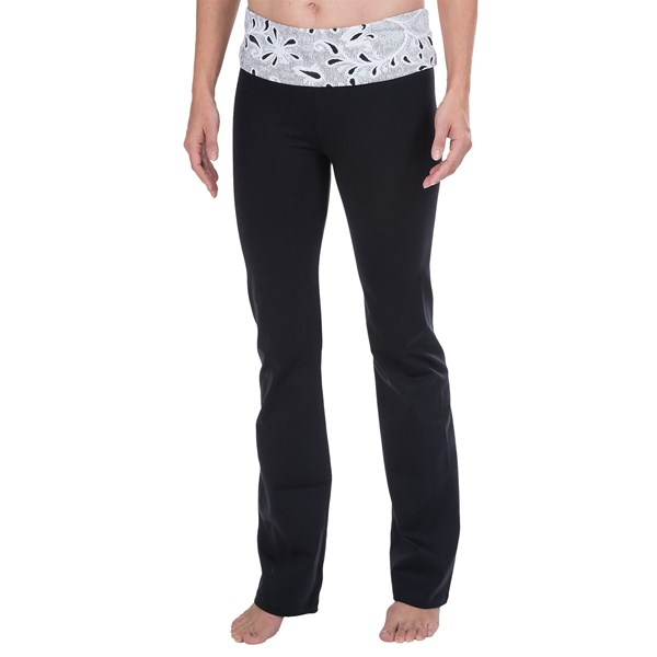 Be Up Rollover Yoga Pants (For Women)
