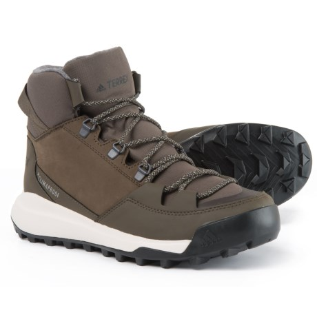 Terrex Winterpitch Climawarm(r) Climaproof(r) Hiking Boots - Waterproof, Insulated (for Men)