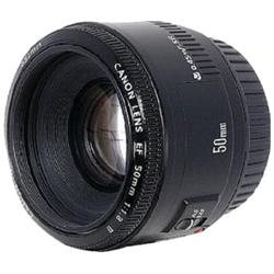 Canon 50mm f/1.8 II Telephoto Lens - 50mm - f/1.8