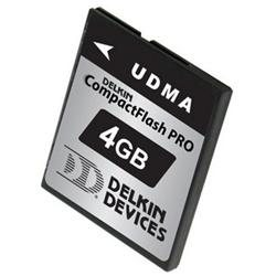 Delkin 4GB PRO UDMA CompactFlash Card -305x - 4 GB