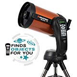 Celestron - NexStar 8SE Telescope - Computerized Telescope for Beginners and Advanced Users - Fully-Automated GoTo Mount - SkyAlign Technology - 40,000  Celestial Objects - 8-Inch Primary Mirror