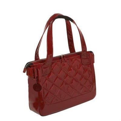 Women In Business Wib-van2 16.1 Vanity Notebook Carrying Case Tote Bag - Scarlet Red