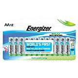 Energizer EcoAdvanced AA Batteries, Energizer's Longest-Lasting Alkaline, 12 Count