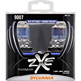 SYLVANIA 9007 SilverStar zXe High Performance Halogen Headlight Bulb, (Contains 2 Bulbs)