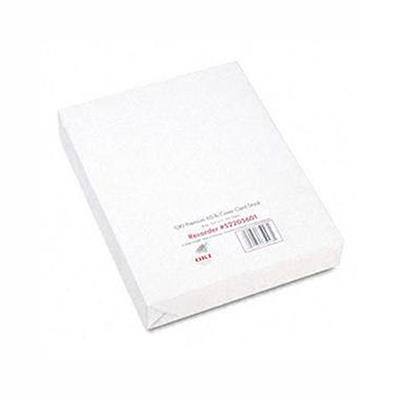 Oki 52205601 Premium Card Stock - Heavy-weight Coated Paper - 250 Sheet(s)