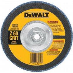 DeWalt DW8329 7 in. X 5/8 in.-11 60 Grit Zirconia T29 Flap Disc