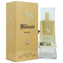 AB Spirit Millionaire by Lomani for Women - 3.3 oz EDP Spray