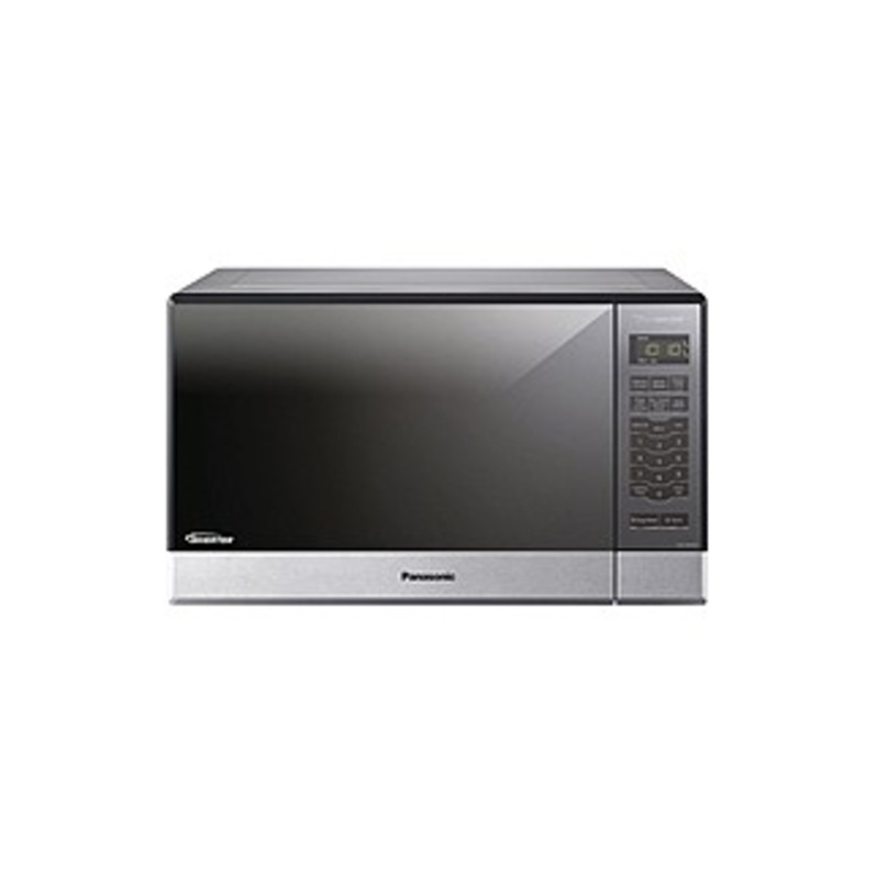 "Panasonic Nn-sn686sr Microwave Oven - Single - 8.98 Gal Capacity - Microwave - 10 Power Levels - 1200 W Microwave Power - 13.40"" Turntable - 120 V Ac"