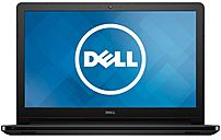 The Dell Inspiron 15 5000 Series I5552 4392BLK Laptop PC Stays powered for up to 8 hours