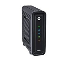 The Motorola SB6121 SURFboard Cable Modem delivers a complete personal media experience at incredible broadband speeds