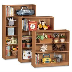 Sproutz 0962JC348 - Bookcase - 60 Inches High - Red Trim