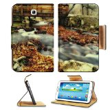 River In The Montseny 3DTech Galaxy Tab 3 7.0 Case Stand Smart Magnetic Cover Made to Order Premium Deluxe Pu Leather