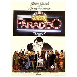 Nuovo cinema Paradiso Poster Movie Italian 11 x 17 In - 28cm x 44cm Antonella Attili Enzo Cannavale Isa Danieli Leo Gullotta Marco Leonardi Pupella Maggio
