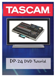 """""""Tascam DP-24DVD Brand New Includes 30-Day Limited Warranty, The Tascam DP24DVD is a complete guide DVD Tutorial for using Tascam DP-24"""