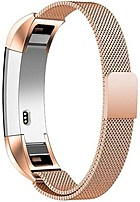 North 813125027018 Stainless Steel Band For Fitbit Alta Activity Tracker - Gold