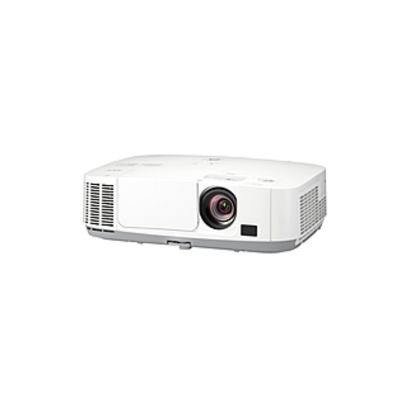 Nec Display Np-p451w Lcd Projector - 720p - Hdtv - 16:10 - F/1.7 - 2.1 - Ac - 270 W - Secam, Ntsc, Pal - 3500 Hour Normal Mode - 6000 Hour Economy Mod