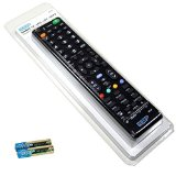 HQRP Remote Control for SONY w855 °C/w805 °C/w700b W800B/w800 a Series; w85 °C W80 °C, W7, W8, TV Full HD LED screen