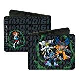 Digimon WereGarurumon, MetalGreymon, & MagnaAngemon w/ Tai - Bi-Fold Wallet