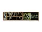 Ka-bar 5701sign Metal Knife Sign
