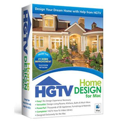 HGTV HOME DESIGN FOR MAC  BOX
