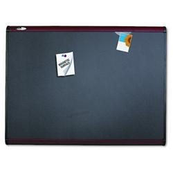 Quartet Prestige Plus Magnetic Fabric Bulletin Boards BOARD,BULL,36X24,MAG,,MY (Pack of 2)