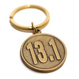 Half-marathon Runner's Gift - 13.1 Keychain - Unique Gift for a Half-marathon Finisher - Men and Women Love This Bold Medallion Key Ring - Best Idea to Celebrate the Accomplishment of Their First Time Running or Jogging a Half-marathon