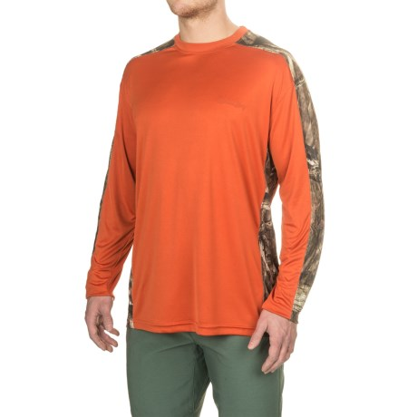 Pieced Camo T-shirt - Upf 30, Long Sleeve (for Men)