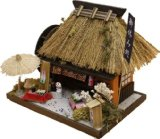Billy handmade doll house kit Thatched House Kit teahouse 8441 (japan import)