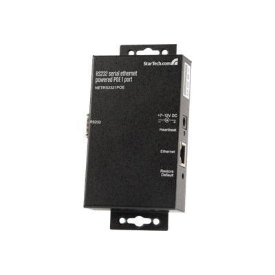 1 Port Rs232 Serial Ethernet Device Server - Poe Power Over Ethernet - Device Server
