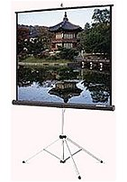 Da-lite Picture King 86021 106-inch Projection Screen With Tripod - 16:9 - Matte White