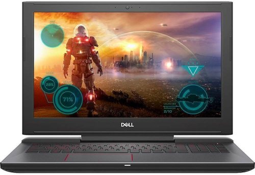 Dell Inspiron 15 Gaming 7577 I7577-7272blk-pus Gaming Laptop Pc - Intel Core I7-7700hq 2.8 Ghz Quad-core Processor - 16 Gb Ddr4 Sdram - 1 Tb Hard Driv