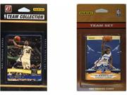 C & I Collectables GRIZZLIES2TS NBA Memphis Grizzlies 2 Different Licensed Trading Card Team Sets