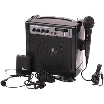 Pyle Pwma220bm Portable Karaoke Pa Amp & Microphone System