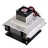 Qianson Thermoelectric Peltier Refrigeration Cooling System Cooler Fan TEC1-12706 DIY Air Conditioner