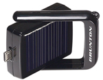 """Brunton Bump w/ Solar Panel for Apple Brand New Includes Lifetime Warranty, The Brunton Bump Power Pack - Apple is designed to charge Apple devices"